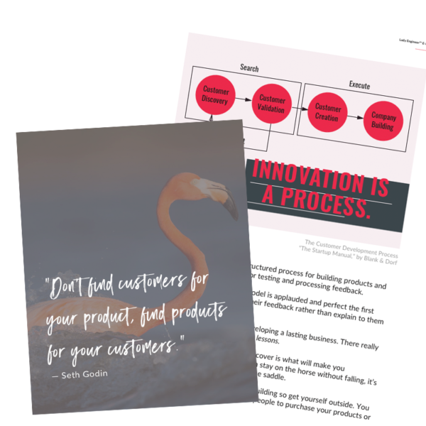 Product Market Fit EBook by Lady Engineer
